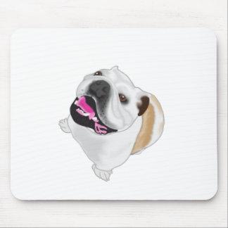 Grace Mertes Bulldog Wyatt Mouse Pad