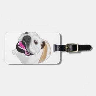 Grace Mertes Bulldog Wyatt Tag For Luggage