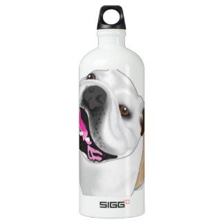 Grace Mertes Bulldog Wyatt Water Bottle