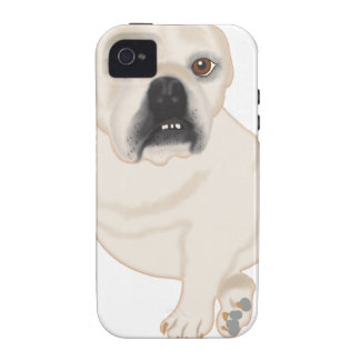 Grace Mertes Rescued Bulldogs iPhone 4 Cases