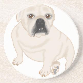 Grace Mertes Rescued Bulldogs Beverage Coaster