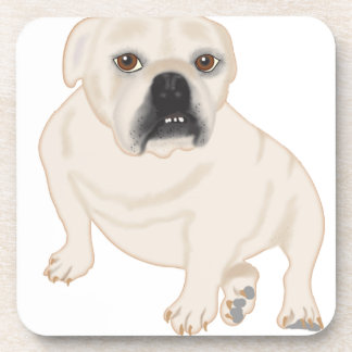 Grace Mertes Rescued Bulldogs Coasters