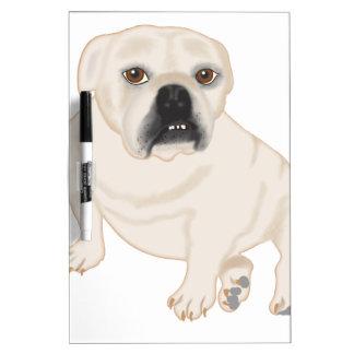 Grace Mertes Rescued Bulldogs Dry-Erase Whiteboard