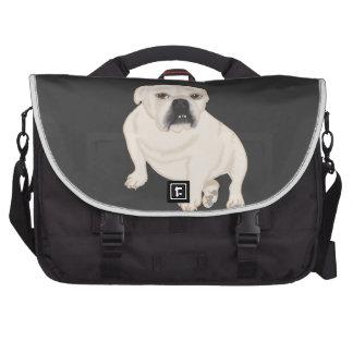 Grace Mertes Rescued Bulldogs Laptop Commuter Bag