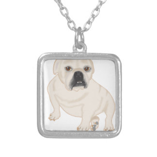 Grace Mertes Rescued Bulldogs Personalized Necklace