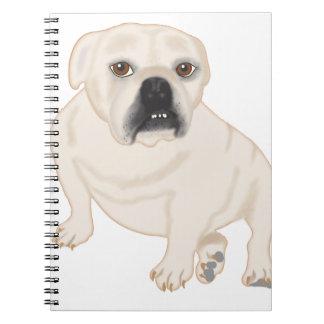 Grace Mertes Rescued Bulldogs Note Books