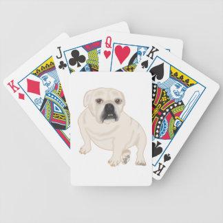 Grace Mertes Rescued Bulldogs Poker Cards