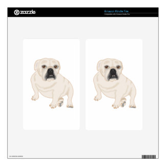 Grace Mertes Rescued Bulldogs Decals For Kindle Fire