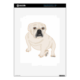 Grace Mertes Rescued Bulldogs iPad 2 Decal