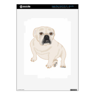 Grace Mertes Rescued Bulldogs Skins For iPad 3