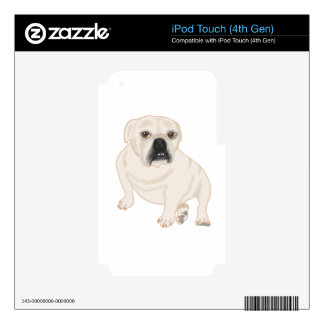 Grace Mertes Rescued Bulldogs iPod Touch 4G Skins