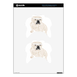 Grace Mertes Rescued Bulldogs Xbox 360 Controller Decal