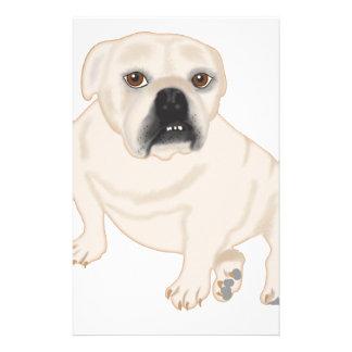 Grace Mertes Rescued Bulldogs Stationery Design