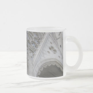 Grace 10 Oz Frosted Glass Coffee Mug