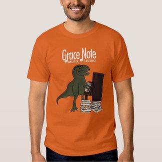 Grace Note T-Rex Piano T-shirt