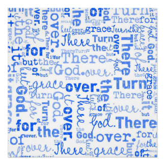 Grace of God word collage Posters