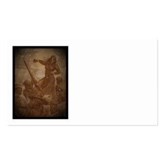 Grace O'Malley Pirate Queen Double-Sided Standard Business Cards (Pack Of 100)