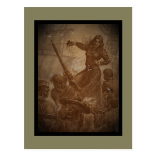 Grace O'Malley Pirate Queen Postcard