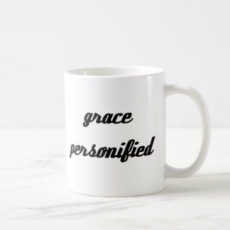 Grace Personified Classic White Coffee Mug