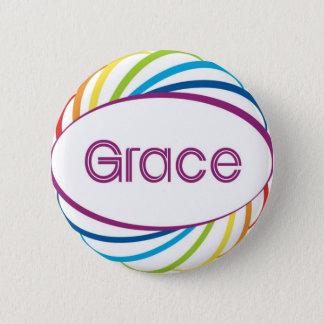 Grace Pinback Button