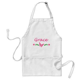 Grace Pink Butterfly Apron