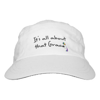 Grace Rainbow Butterfly Hat, White Headsweats Hat