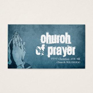 Grace Religious Religion Pastor Christianity Business Card