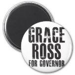 Grace Ross For Governor 2010 Fridge Magnets