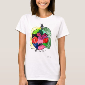 Grace Self-Portrait Green T-Shirt