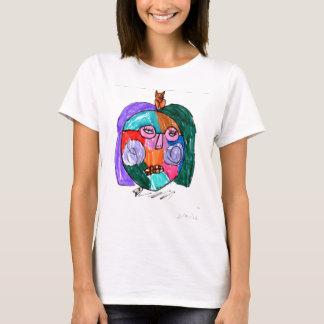 Grace Self-Portrait Purple T-Shirt
