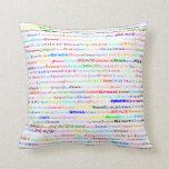Grace Text Design II Throw Pillow Throw Pillows