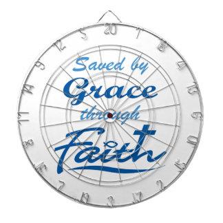 GRACE THROUGH FAITH DART BOARD