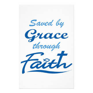GRACE THROUGH FAITH STATIONERY