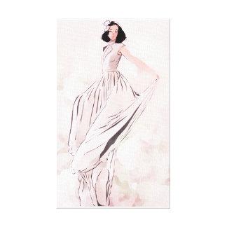 Grace Unfolding by Jessica Canvas Print