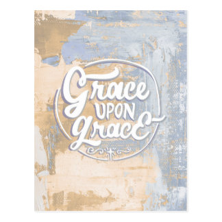 Grace upon Grace Postcard