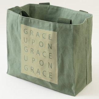 Grace Upon Grace Utility Army Bag