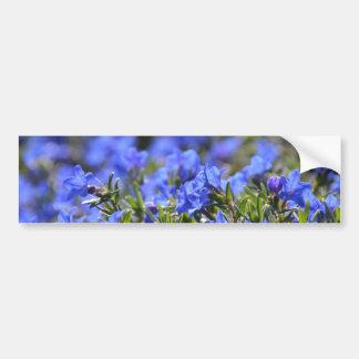 Grace Ward Flower Car Bumper Sticker