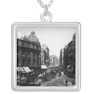 Gracechurch Street, London, c.1890 Silver Plated Necklace