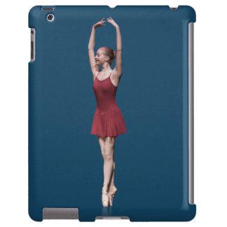 Graceful Ballerina On Pointe