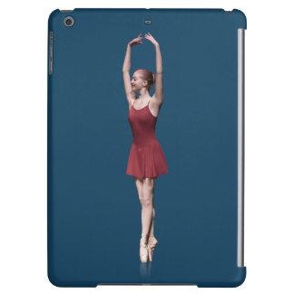 Graceful Ballerina On Pointe Customizable iPad Air Case