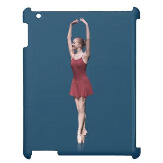 Graceful Ballerina On Pointe Customizable iPad Case
