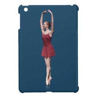 Graceful Ballerina On Pointe Customizable iPad Mini Cases