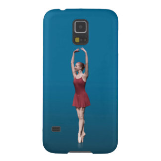 Graceful Ballerina On Pointe Galaxy S5 Covers