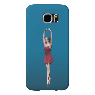 Graceful Ballerina On Pointe Samsung Galaxy S6 Case