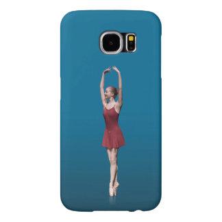 Graceful Ballerina On Pointe Samsung Galaxy S6 Cases