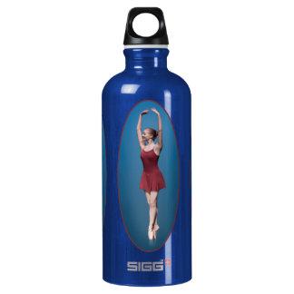 Graceful Ballerina On Pointe Water Bottle