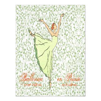 Graceful Ballerina Postcard
