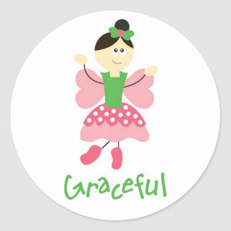 Graceful Ballerina Stickers
