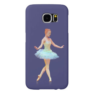 Graceful Ballerina with Red Hair Samsung Galaxy S6 Case