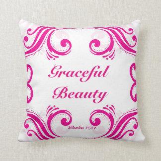 Graceful Beauty Decorative Pillow